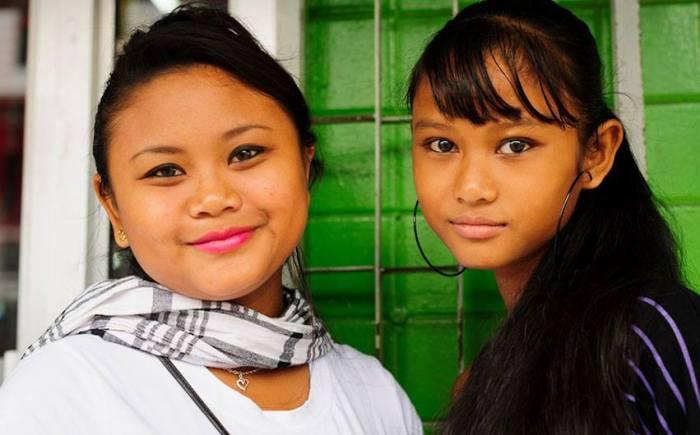 Indian Chinese Javanese Asian Women