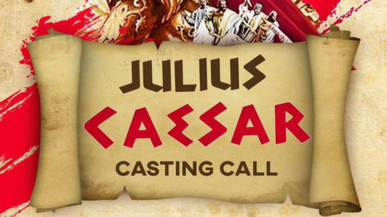 Acting Auditions in Trinidad, Theatre, Julius Caesar